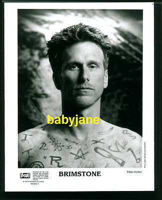 PETER HORTON VINTAGE 8x10 PHOTO BY MICHAEL COURTNEY 1998 BRIMSTONE BEEFCAKE