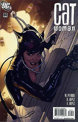 Catwoman #80 DC Comics Adam Hughes Cover NM- 9.2 or better HOT!