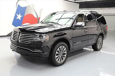 2017 Lincoln Navigator Select Sport Utility 4-Door 2017 LINCOLN NAVIGATOR SELECT SUNROOF NAV REAR CAM 15K #L00764 Texas Direct Auto