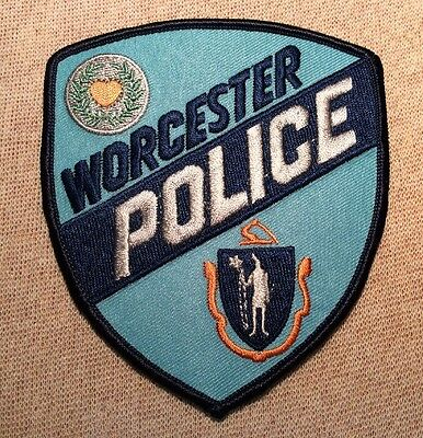 MA Worcester Massachusetts Police Patch
