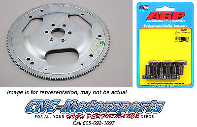 Platinum SFI-Rated Flexplate Auto Transmission SB FORD 347 157T Int-Bal W/Bolts