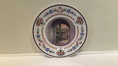 An Illinois Central Railroad Bauscher French Quarter Service Dinner Plate