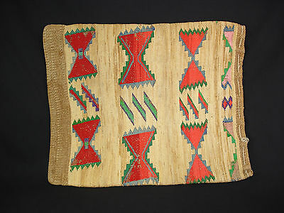 Very Nice Plateau Corn Husk bag, Native American Indian, Circa: 1915