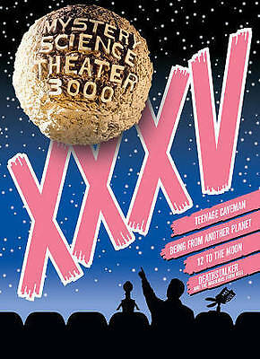 Mystery Science Theater 3000: Volume XXXV (DVD, 2016, 4-Disc Set) Brand New