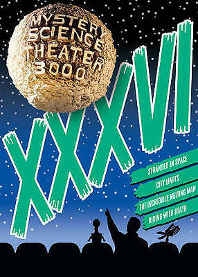 Mystery Science Theater 3000: Volume XXXVI (DVD, 2016, 4-Disc Set) Brand New
