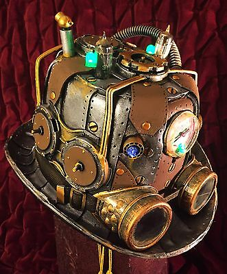 Steampunk Hat Tesla Victorian Fallout Cosplay