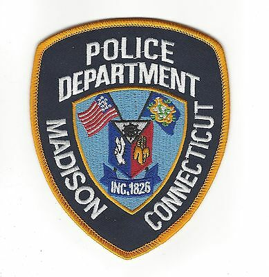 Madison (New Haven County) CT Connecticut Police Dept. patch - NEW!