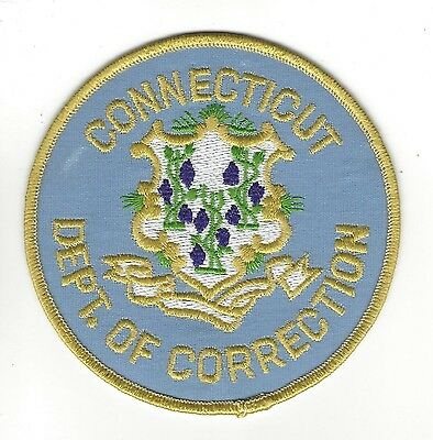 CT Connecticut Dept. of Correction CDOC patch - NEW!