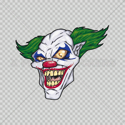 Decals Sticker Joker Tablet Laptop Waterproof Sports car xp6 0500 14974