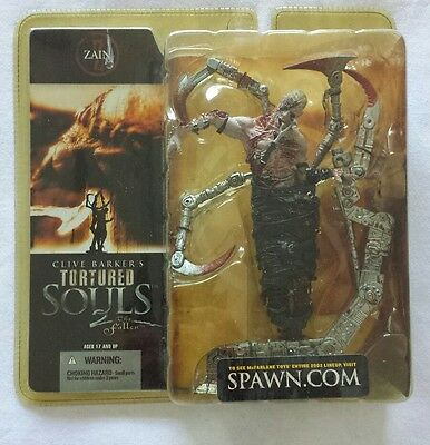 CLIVE BARKERS TORTURED SOULS 2 THE FALLEN ZAIN. Mcfarlane toys. Still Sealed!