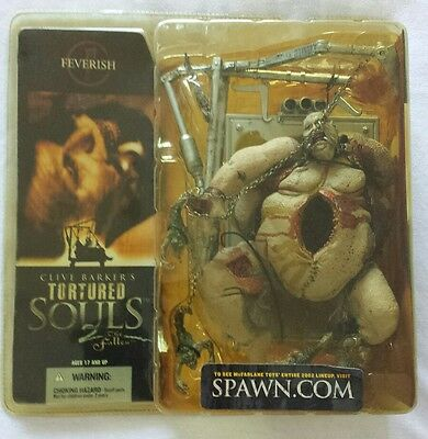 CLIVE BARKERS TORTURED SOULS 2 THE FALLEN FEVERISH Mcfarlane toys still sealed!