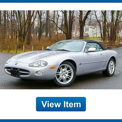 2002 Jaguar XK8 Base Convertible 2-Door 2002 Jaguar XK8 Convertible 18K mi Navigation Serviced California CARFAX!