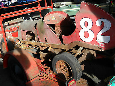 Midget race car Pappy Hough, Clay Smith Ford V8 60 Nice LOOK