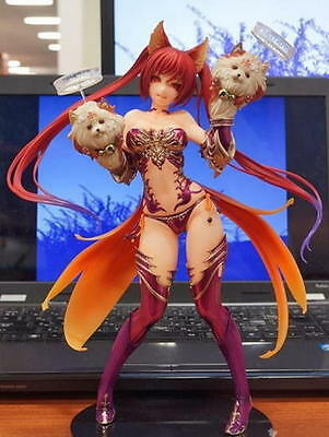 "9"" Anime Rage of Bahamut Cerberus PVC Figure Toy gifts New in Box"