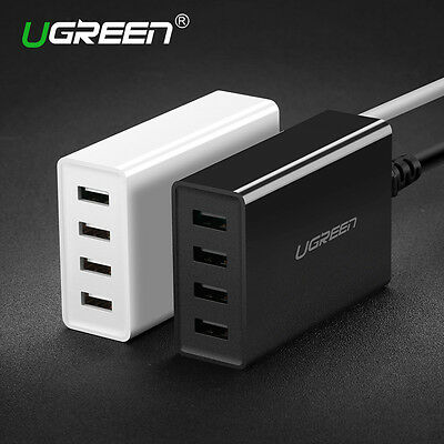 Ugreen USB Charger, Phone Charger, 34W - 4 Ports