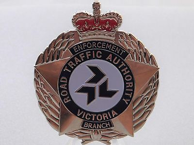 Road Traffic Authority Victoria Enforcement Branch obsolete replica badge
