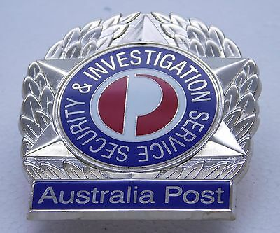Australia Post Security & Investigations obsolete replica badge Not Police Fire