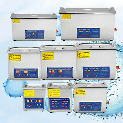 Ultrasonic Cleaners Supplies Jewelry 1.3L,2L, 3L, 6L, 10L, 15L, 22L, 30L