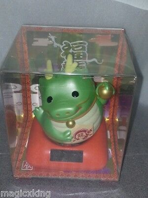 Nohohon Lucky Green Dragon Solar ECO Japan Figure Limited Exclusive Very RARE