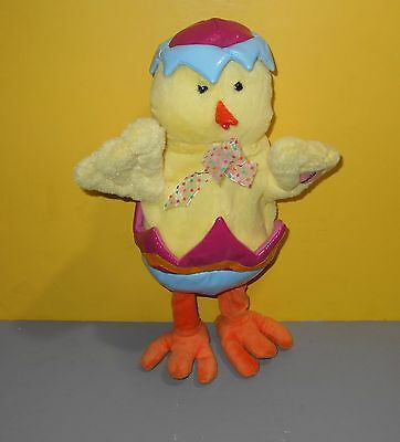 Diana Ross I'm coming out Animated Wiggle Dancing Singing Yellow Egg Chick Plush