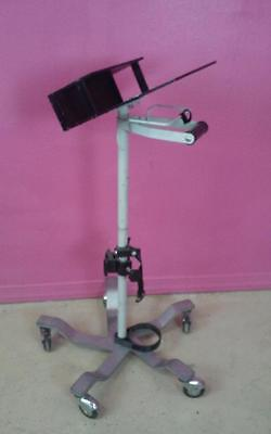 Pryor Products Pulmonetic Systems LTV 950 Rolling Cart W/ Attached Tank Mount
