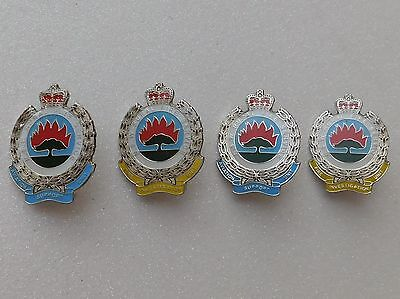 NSW Rural Fire Service FIU & ASU Lapel Pins Lot of 4 Not Police Emergency Medic