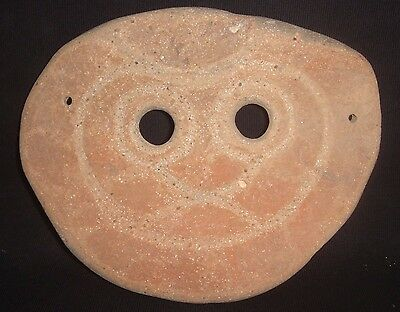 350 Bc Ancient South East Asian Child's Funerary Mask, Burial Offering
