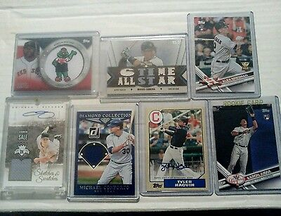 MLB baseball sports card lot Auto JSY patch collection AARON JUDGE RC rare TROUT