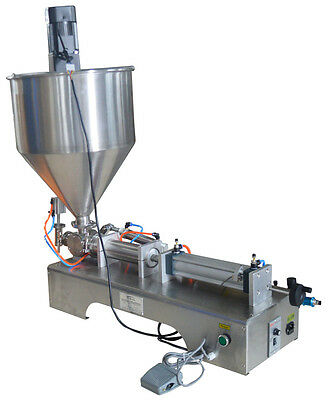 Mixing Hopper Filling Machine For Honey Sauce Juice 100-1000ml 110V CA Stock