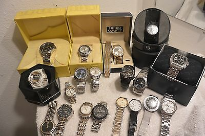 Watches Lot for Resale / Parts or Repair