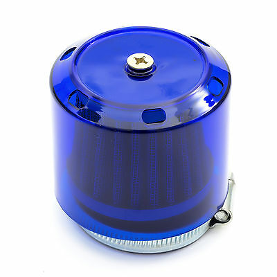Pit Dirt Bike 44mm 42mm K N AIR FILTER BLUE Splash Water Proof 125cc 140cc