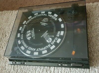 Vintage Technics SL-BD22 Automatic Stereo HiFi Turntable Record Player Separate