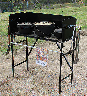 Camp Oven  Cooking Table