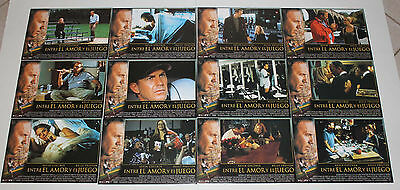 Kevin Costner For the Love of the Game lobby card set 12 Kelly Preston baseball