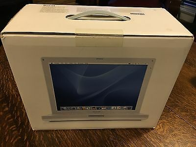 Apple iBook G4 12-inch 1.2GHz 1.25GB Mac OS 10.5 / Retail Box + Recovery Discs