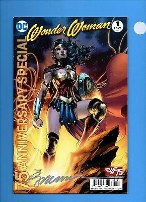 Wonder Woman 75th Anniversary Special #1 (December 2016, DC) Signed:Paul Jimenez