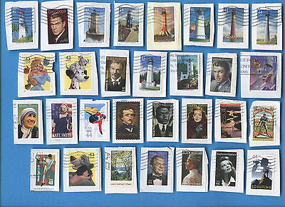 USA postage stamps 40c-46c most 2008-2011 143 different most on paper [sta2038]
