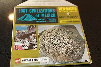 Vintage View Master Reels Lost Civilizations of Mexico
