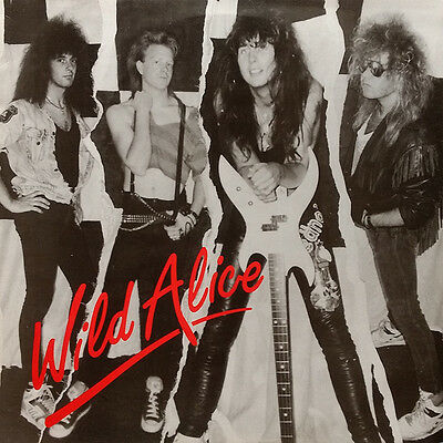 WILD ALICE 12 Inch 4 Track EP 1989 UK rare Private Press NWOBHM Hard Rock EX