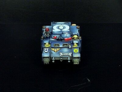 Warhammer 40k space marines ULTRAMARINE rhino MASTER PAINTED