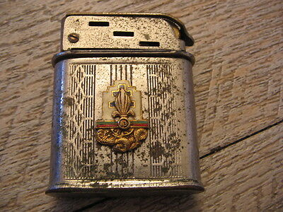 *** Ancien briquet essence POLAIRE 13éme DBLE * indo Accendino Lighter Feuerzeug