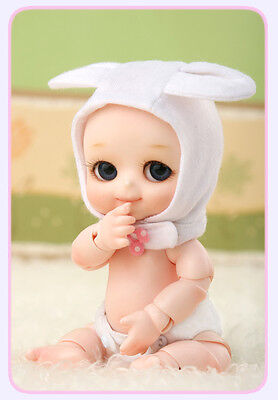 BJD SD NAPPY CHOO Free Eyes + Face Up Resin Toys Gift Model Reborn