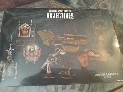 Warhammer 40K 8Th Edition Sector Imperialis Objectives - New & In Stock
