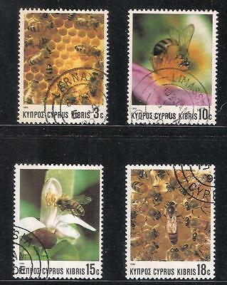 Cyprus 1989 Bee Keeping Bees Insects Honey Food Nature Wildlife Fine Used