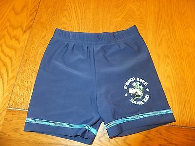 Baby swimming trunks / shorts, 6-9 months, Blue, George @ Asda