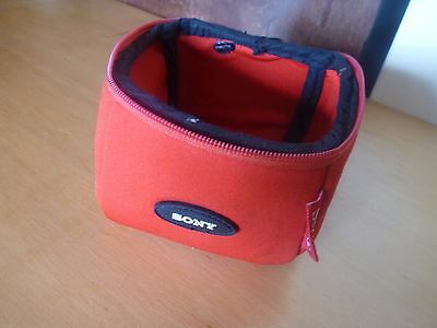 minidisc holder pouch RED