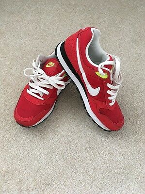 Womens Red Nike Trainers // Size Uk 5.5 // Fab
