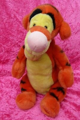 "Disney Store Exclusive ULTRA SOFT TIGGER 12"" Soft Plush Toy"