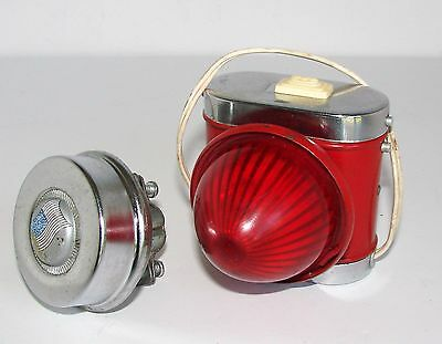 Vintage Bicycle Light Hong Kong British Empire