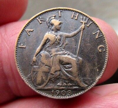 1903 Farthing King Edward Vii th